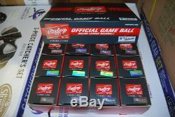 12 Dozen Rawlings ROMLBSTFL16 Major League Spring FL Baseball Official MLB ROMLB