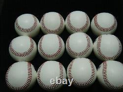 12 NEW Rawlings Official Minor League Pat O'Connor Pres. Baseballs FREE SHIPPING
