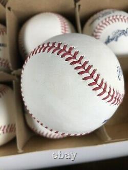 (12) One Dozen Official Major League Baseballs Blemishes