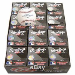 12 Rawlings Major League Baseballs Mlb Official Balls
