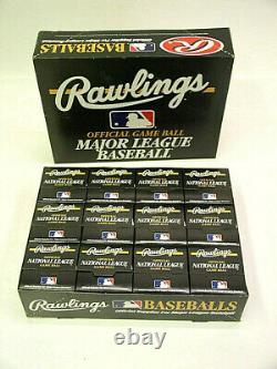 12 Rawlings Official 1999 National League Baseballs Coleman Major League 1 Dozen