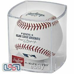 (12) Rawlings Official Leather Major League MLB Baseball Manfred Cubed Dozen