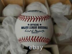(12) Rawlings Official Leather Major League MLB Baseball Manfred Dozen 2021