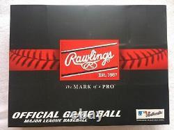 12 Rawlings Official Major League Leather Baseballs One Dozen Romlb Mlb Manfred
