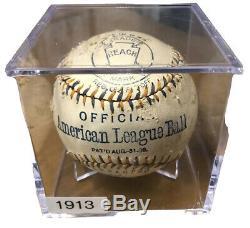 1913-17 Official American League AL Ban Johnson Reach Baseball! Extremely Rare