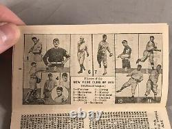 1913 Sporting Life's Official National & American League Baseball Schedules