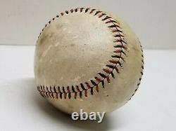 1917-19 Spalding Official League YMCA WWI WW1 Military FRANCE AMERICA Baseball