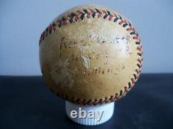 1918 Spalding Official National League YMCA WWI FRANCE Antique Baseball