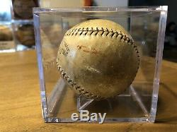 1919-24 Official National NL League John A. Heydler Spalding Baseball Game Used