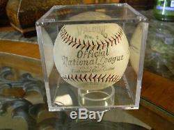 1928 -33 Vintage Spalding Official National League Baseball, Heydler Stampings