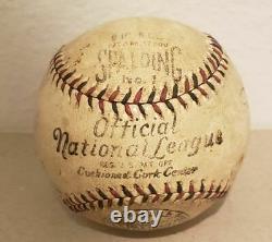 1929-1936 Official International National League NL Spalding Baseball Knapp WoW