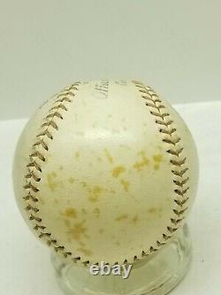 1930s 40s Spalding Official League Baseball NO. AA Vintage RARE