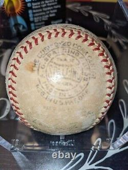 1938 Cubs National League Champs Team Signed Official Ford Frick Baseball. No COA