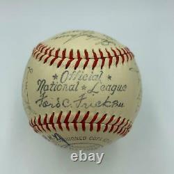 1948 New York Giants Team Signed Official National League Baseball