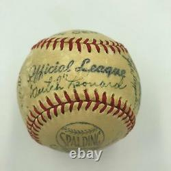 1950 Chicago Cubs Team Signed Autographed Official League Baseball