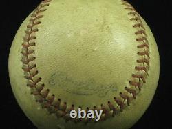 1950's Official Negro American League Baseball (J. B. Martin) Rawlings SCARCE