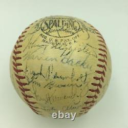 1952 Chicago Cubs Team Signed Official National League Baseball PSA DNA COA