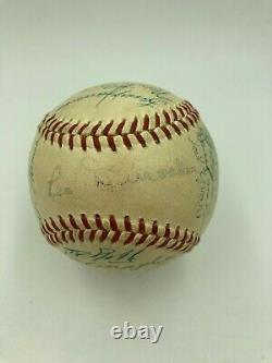 1952 New York Giants Team Signed Official National League Baseball