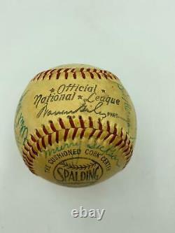 1955 Philadelphia Phillies Team Signed Official National League Baseball