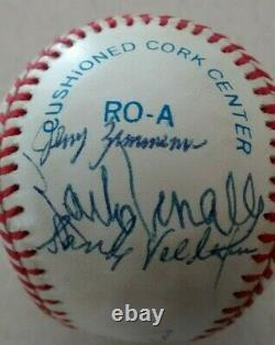 1965 Minnesota Twins Team Autographed Official American League Baseball