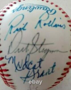 1965 Minnesota Twins Team Autographed Official American League Baseball
