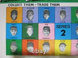 1968 Official Major League Players Baseball MARBLES Series2 Display Complete Set