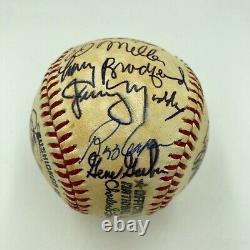 1978 Atlanta Braves Team Signed Autographed Official National League Baseball