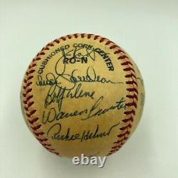 1978 Philadelphia Phillies Team Signed Official National League Feeney Baseball