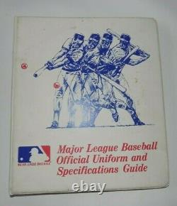1980 Major League Baseball Official Uniform and Specifications Guide All Teams