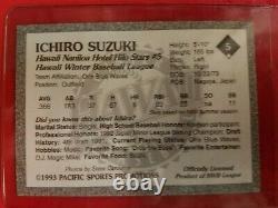 1993 Hawaii Winter League Official #5 Ichiro Suzuki Nr Mt-mt Not Reprint Genuine