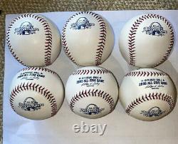 1/2 Dozen (6) 2009 All-Star Game Official Major League Baseballs Busch Stadium