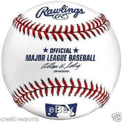 1/2 Dozen Qty 6 Mlb Rawlings Official Major League Baseballs Selig Sale