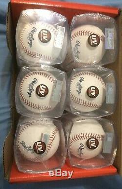 1 Dozen Cubed 12 Rawlings Official Major League Baseball Box MLB ROMLB MANFRED