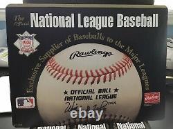 1 Dozen Official National League Baseballs-sealed-President Bill White-1989-1994