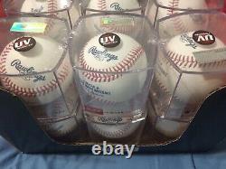 1 Dozen Rawlings Official Major League Baseballs Cubed Romlb Manfred
