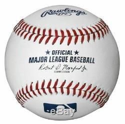 1 Dozen Rawlings Official Major League Baseballs Mlb-romlb Manfred