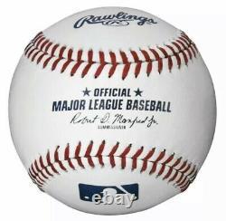1 Dozen Rawlings Official Major League Baseballs Mlb-romlb Manfred With Uv Cases