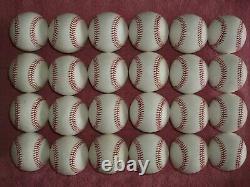 24 Rawlings Official Major League Leather Baseballs