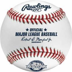 6 Dozen Rawlings ROMLBWN10 Major League Nationals Baseball Official MLB ROMLB