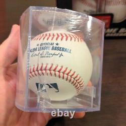 6 Official Major League Baseball Rawlings half dozen ROMLB MLB 1/2 DOZEN W CASES