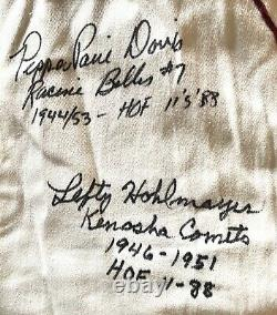 AAGPBL Signed Rockford Peaches Official Jersey League Of Their Own RARE Paire