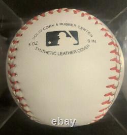 AARON JUDGE Autographed Official League Baseball New York Yankees PSA