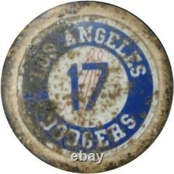 AJ Ellis Official Major League Team Issued Baseball Bat Dodgers JB 085544
