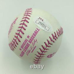 Aaron Judge #99 Signed Official Major League Mother's Day Baseball With JSA COA