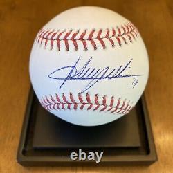 Adrian Beltre Signed Autographed Official Major League Baseball Rangers PSA COA