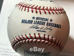 Albert Pujols Autographed Official Major League Baseball Upper Deck
