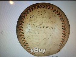 Antique Baseball Official Federal League