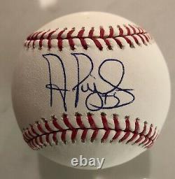 Autographed Albert Pujols Rawlings Official Major League Baseball Beckett COA