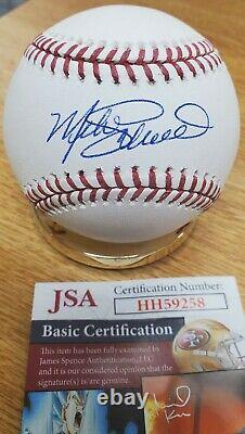 Autographed MIKE SCHMIDT Official Major League Baseball withJSA COA