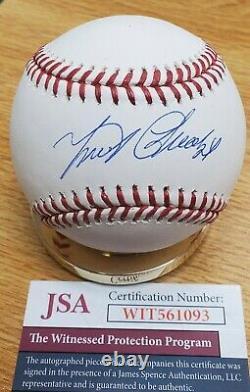 Autographed Miguel Cabrera Rawlings Official Major League Baseball JSA COA